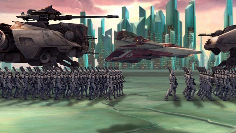 Gwiezdne wojny Wojny klonów zalukaj